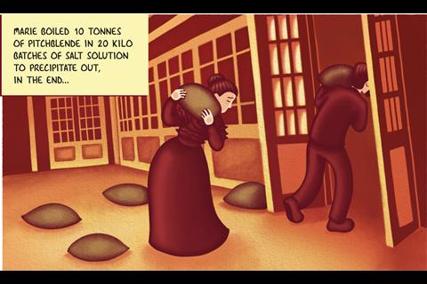 IYPT Comic – Radium part 2 – Frame 2